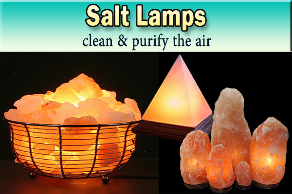 Salt Lamps and Negative Ions