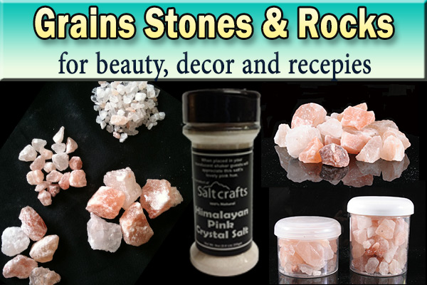 Himalayan Crystal Salt Grains Stones Rocks suppliers exporters from Pakistan