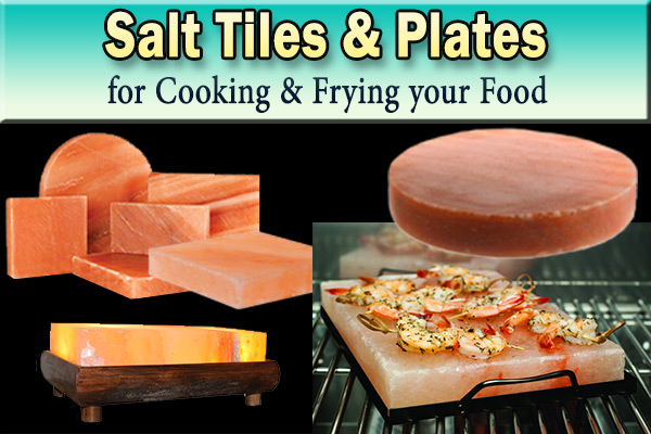 Himalayan Salt Tiles & Plates exporters from Pakistan