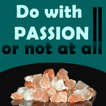 Do with passion for salt lamps