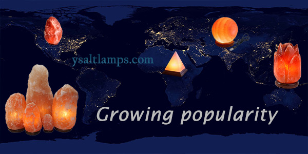 Growing Popularity of Wholesale Salt Lamps