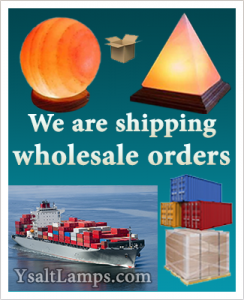 Shipping Wholesale Himalayan Salt Lamp Orders