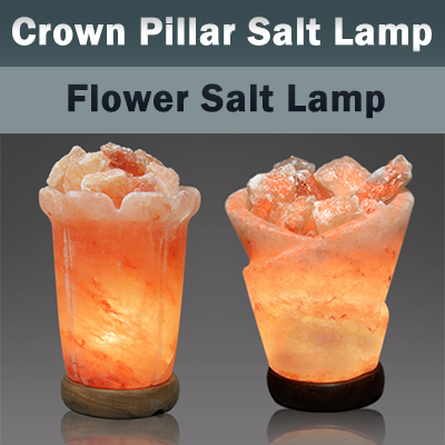 Crown Pillar Crafted Himalayan Salt Lamps