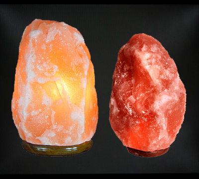 Himalayan Natural Salt Lamps from Pakistan