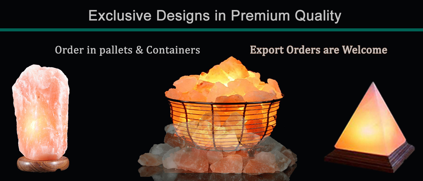 Manufacturer Exporter Wholesale Supplier of Himalayan Salt Lamps in Pakistan
