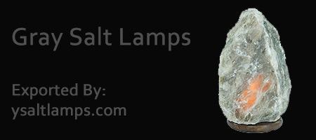 Himalayan Gray Salt Crystal Lamps in Pakistan