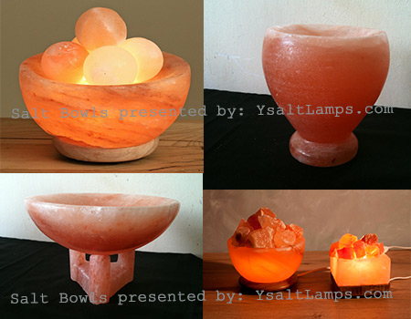 Himalayan-Salt-Crystal Bowl-Lamps