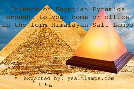 Himalayan Salt Crystal Pyramid Lamps in Pakistan